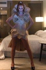 Queen of Quarantina, Ashleigh Perrie.