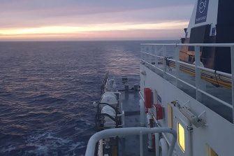 The Cliftons managed to get home to New Zealand aboard a fishing boat on Tuesday.