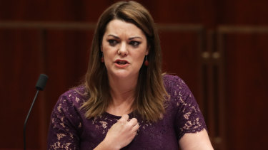 Sarah Hanson-Young has demanded an apology and financial compensation within seven days.