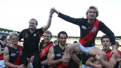 How Sheedy saved Hird's career before it started