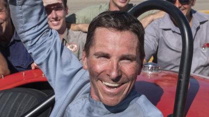 Christian Bale puts his foot down in Ford v Ferrari