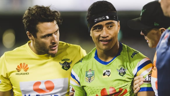 Canberra Raiders half Ata Hingano out for six months
