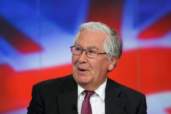 Former Bank of England Mervyn King launched QE in the UK in response to the 2008 financial crisis.