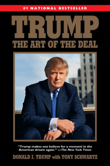 The foundation was set up to distribute royalties from Trump's book.