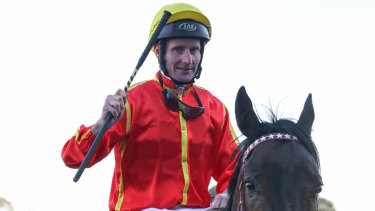 Brad Rawiller was delighted with the form of Voodoo Lad.