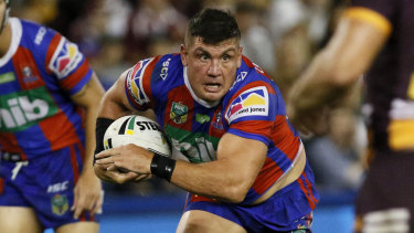Wider view: Chris Heighington reckons international matches in the US are good for rugby league.