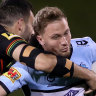 'I need to take a stand': Sharks brush Moylan despite Johnson injury