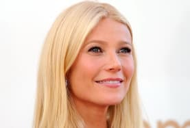 Gwyneth pulled out the power moves at her engagement