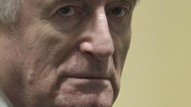 Former Bosnian Serb leader Radovan Karadzic.