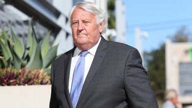 Ken Fleming QC, counsel assisting the coroner, enters the coroner's inquest on Tuesday.