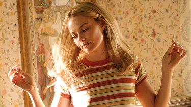 Margot Robbie plays Sharon Tate in the film.