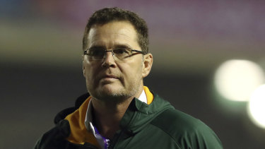 Ready: Springboks coach Rassie Erasmus plans on resting a number of his best players against the Wallabies in the opening round of the Rugby Championship.