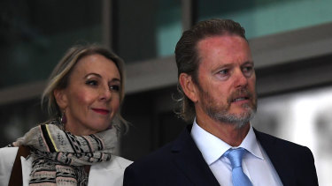 Craig McLachlan arrives at the Melbourne Magistrates Court. on Tuesday.