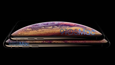 9to5Mac uncovered official Apple pictures of the iPhone Xs and its larger sibling.
