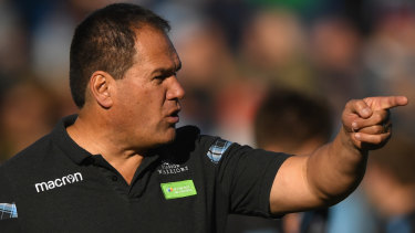 Dave Rennie was courted by Rugby Australia for six months.