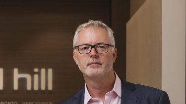 Michael Hill chief executive Daniel Bracken.