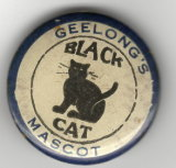 A Black Cat badge made in 1923.