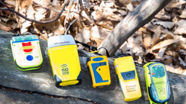 Choose a personal locator beacon with GPS.