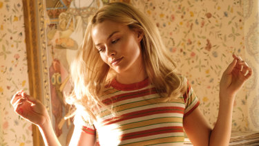 Margot Robbie plays Sharon Tate in the film.