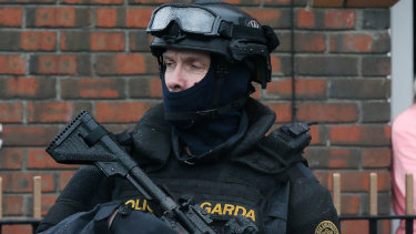 The Irish police have worked with the AFP to make the arrests.