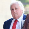 'I think it's premature': Palmer camp cops fresh rebuke in court