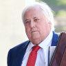 'I think it's premature': Palmer camp cops fresh rebuke in court