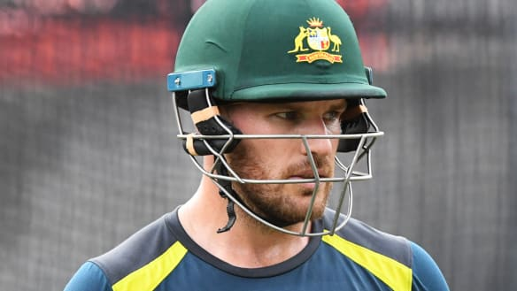 My bad: Aaron Finch says he didn't do enough with the bat to support Australia's improved ODI top order.