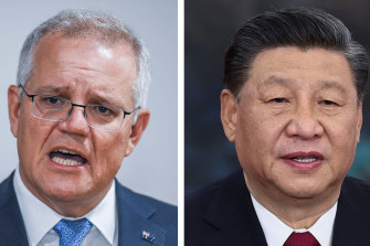 Neither Australia's Prime Minister Scott Morrison nor China's President Xi Jinping are in a mood to back down.