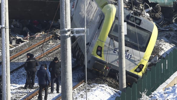 Turkey train crash leaves several dead, dozens injured