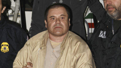 Mexican drug lord 'El Chapo', head of the Sinaloa Cartel, to spend life behind bars