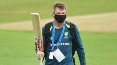 David Warner has not been ruled out of the second Test in Melbourne.
