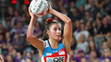 Swifts captain Maddy Proud said the team was hopeful borders would be opened towards the end of the season to allow games in Sydney.