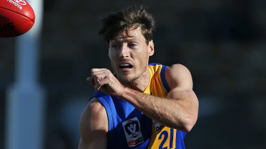 Williamstown defender Joel Tippett wants to cap off a personally satisfying year with a premiership.