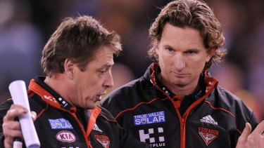 James Hird hasn't ruled out a return to coaching.