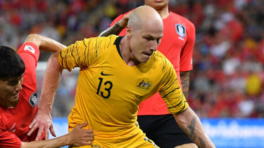 Injury cloud: Socceroos star Aaron Mooy is at long odds to play in the Asian Cup but looks set to be named in coach Graham Arnold's 23-man squad anyway.