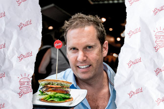 Grill'd owner Simon Crowe