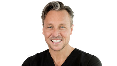 Cosmetic surgeon Dr William Mooney.