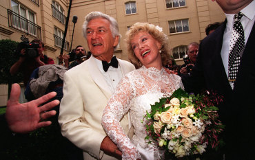 From the Archives, 1995: Bob Hawke and Blanche d'Alpuget's wedding day