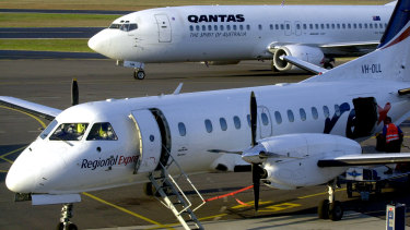 """Rex claims the """"massive"""" capacity expansion undertaken by Virgin and Qantas had been done in a coordinated manner."""
