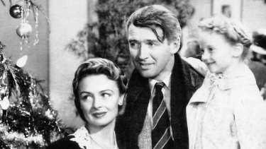 """Christmas is a reminder that """"it's a wonderful life."""" Here, an image from 1946 film """"It's a Wonderful Life ."""""""
