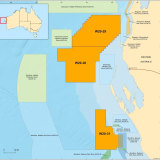 Newly released acreages for potential petroleum exploration.