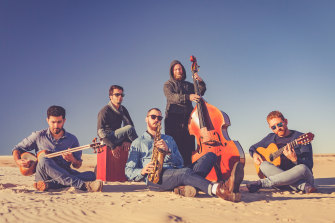 The Eishan Ensemble, distinctive musicians of diverse backgrounds.