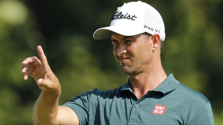 """It'd be great to keep this run going"": Adam Scott."