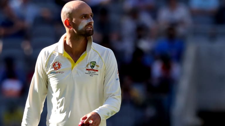 Nathan Lyon dismissed Virat Kohli for the seventh time in his career - a record for any bowler.