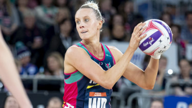 Comeback: Renae Ingles' shock return has coincided with the Vixens finding their best form.