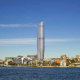 An artist's impression of the Star's proposed tower at Pyrmont.