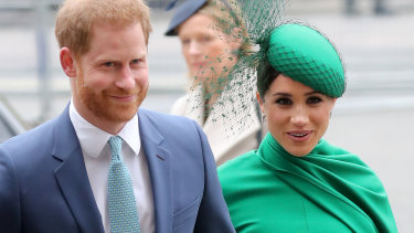 Prince Harry, the Duke of Sussex and Meghan, the Duchess of Sussex.