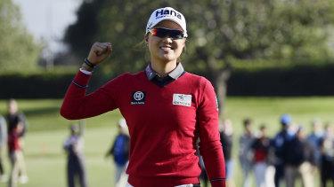 On the cusp of world No.1: Australia's Minjee Lee.