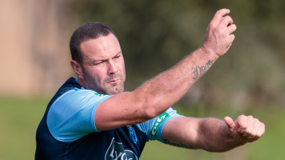 Impromptu post-traning speech reminds Blues why Cordner is king