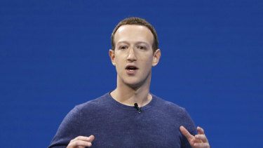 Facebook chief executive Mark Zuckerberg says people should think of it as a metaverse company.